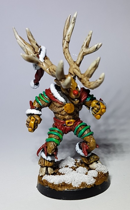 Broodolf The Christmas Beastman