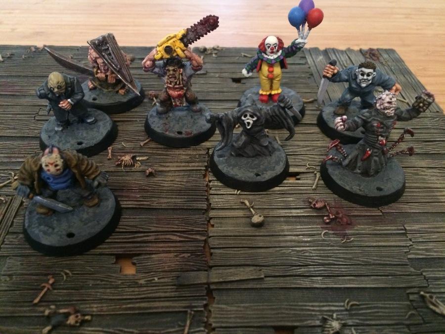 Painted Dwarf Psychopaths