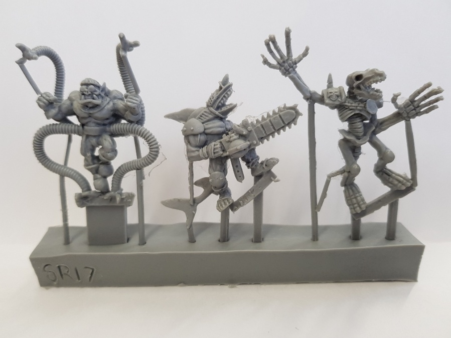 New Resin Sprues