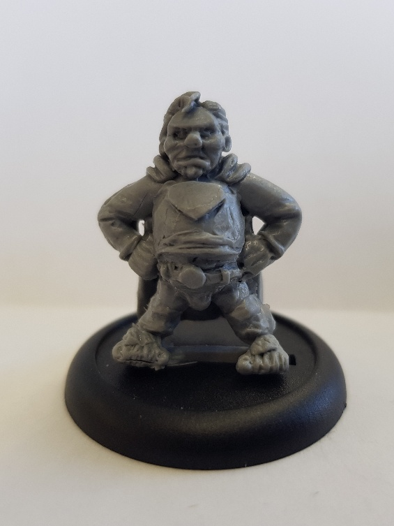 SuperHalfling Resin Copies