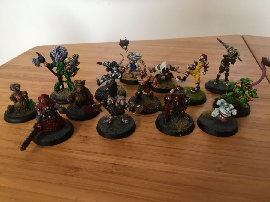 Some painted miniatures