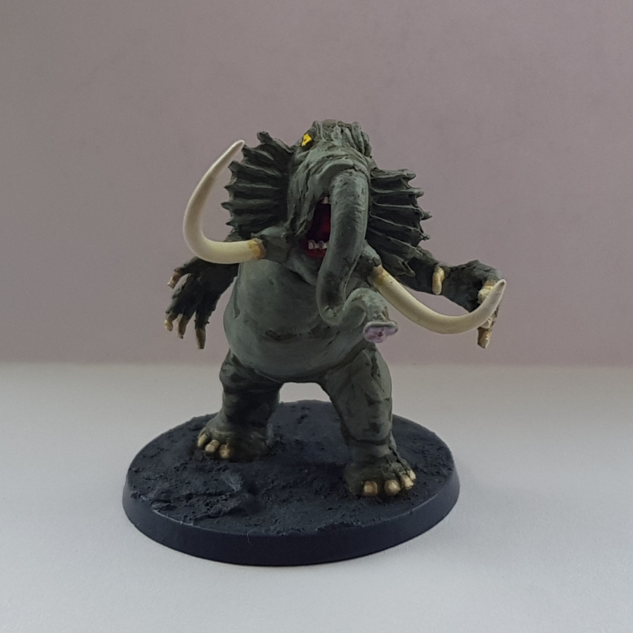 Painted Chaugnar Faugn the Elephant Daemon