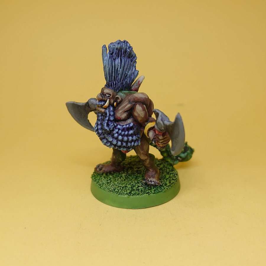 Painted Chaos Dwarf Mutant Slayer