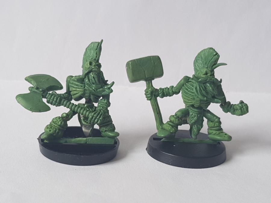 Dwarf Slayer Skeletons