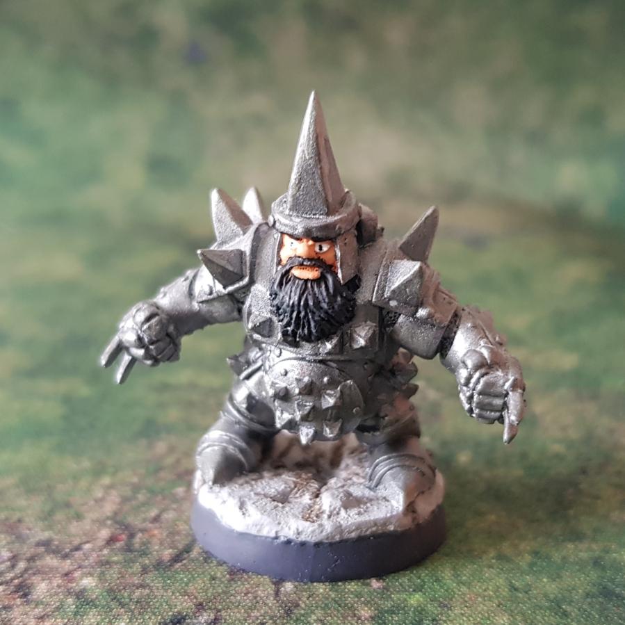 Painted Armoured DwarfBerserker
