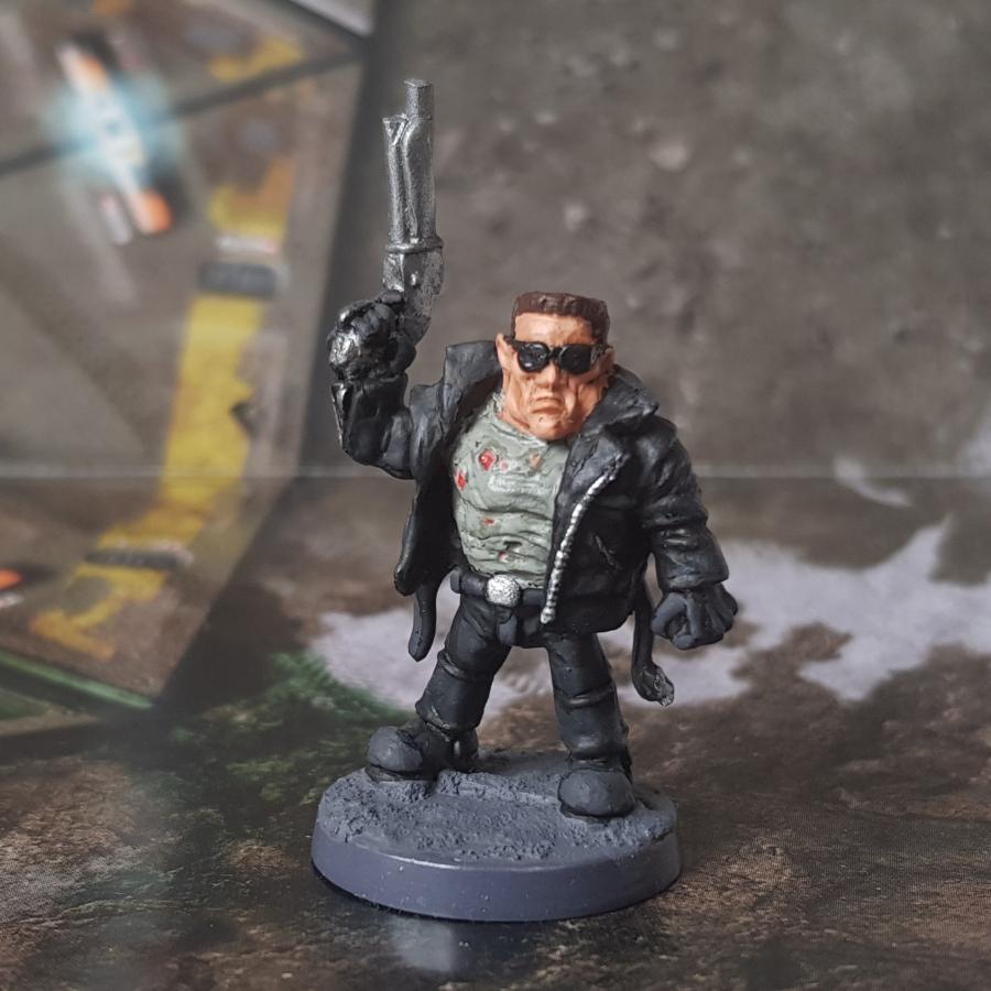 Painted Arnie Dwarf