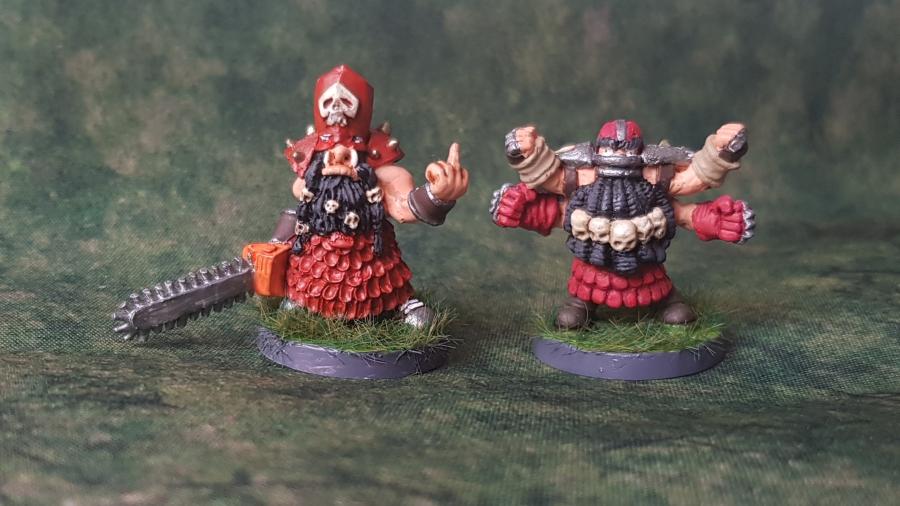 Painted Blood Bowl ChaosDwarfs