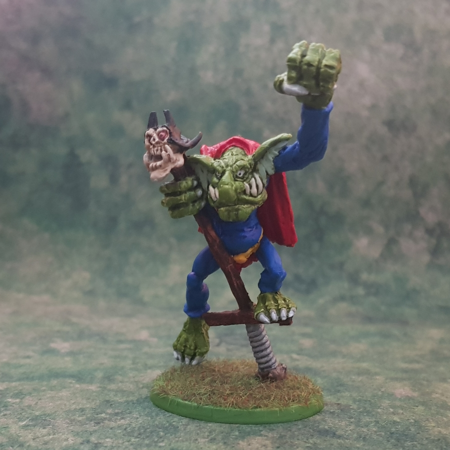 Painted Super PogoTroll