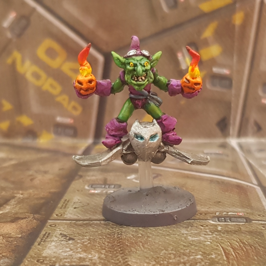 Painted Green Goblin